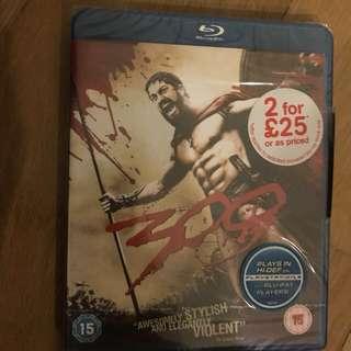 300 Blu ray (London Blu Ray)