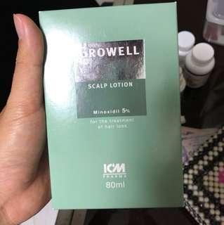 Growell 5% scalp lotion