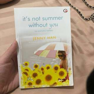 NOVEL JENNY HAN its not summer without you (bhs indo)