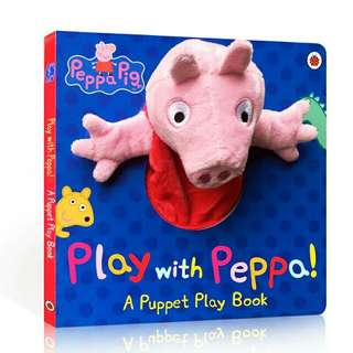 .Peppa Pig: Play with Peppa Hand Puppet Book
