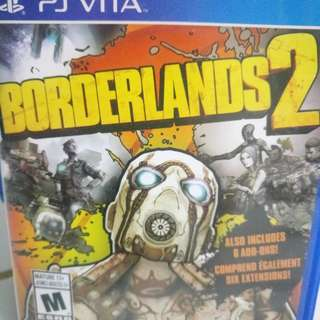 PS Vita Game BORDERLANDS 2