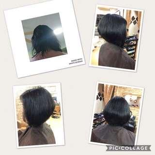 Olaplex Treatment and Hair Cut
