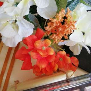 Wedding tray flower arrangements