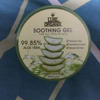 Luxe Organix Aloe vera soothing gel