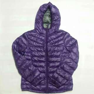 (L) UNIQLO Premium Down Ultra Light Down Jacket