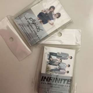 Infinite / APINK mini post cards