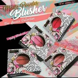 ManniQueen Matte Powder Blusher