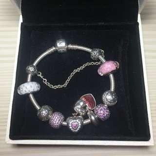 Pandora charm bracelet 手鏈