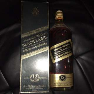 BLACK LABEL 黑牌舊裝1.125L