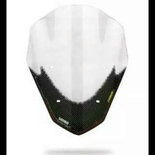 [Clearstock] NMAX sectbill carbon visor windshield