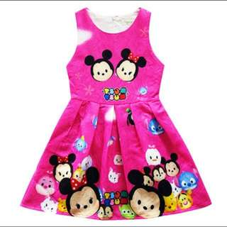 Tsum Tsum dress for kids