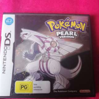 Pokemon Pear Edition DS