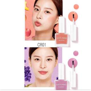 Quick preorder >> apieu juicy Pang water blusher