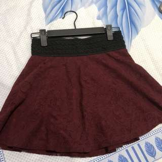 ZARA MINI SKIRT (used)
