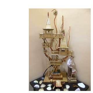 Bahay Kubo Nipa Hut Lamp