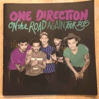 One Direction OTRA Programme Booklet