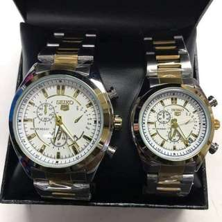 Seiko couple watch for Valentine's day