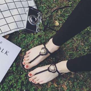 💕珍珠涼鞋💕