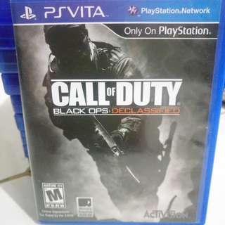PS Vita Game Call of Duty