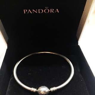 Pandora Moments Charm Bangle