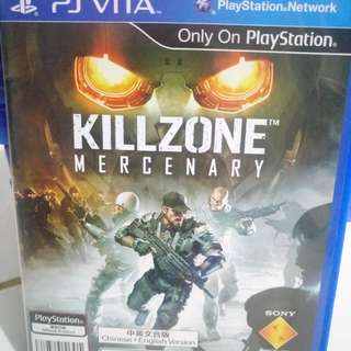 PS Vita Game Killzone Mercenary