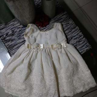 Baby girl baptismal Dress