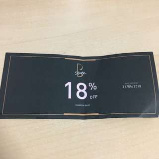 18% off Rawrow Bags Voucher
