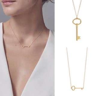 Tiffany 18k金項鍊