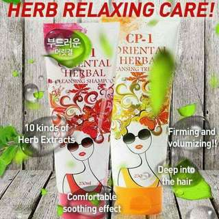Cp 1 Oriental Herbal Shampoo And treatment sold as per set