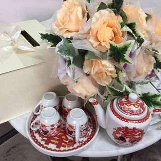 Wedding Box and Tea Set