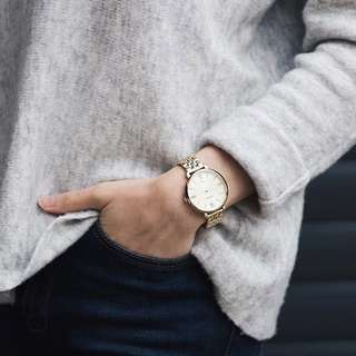 """Fossil Gold """"Jacqueline"""" Watch"""