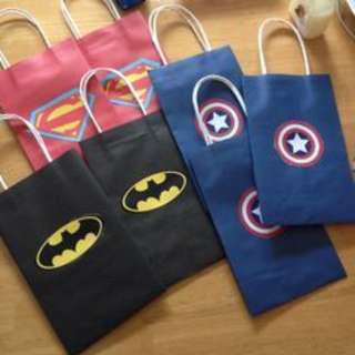 MTO Superhero / Adventure Time Loot bags