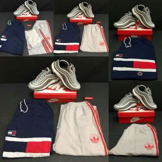 Tommy Hilfiger & Adidas Full Button