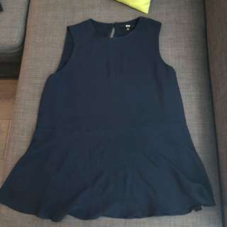 Uniqlo Peplum top