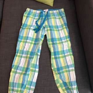 Cropped Aeropostale pajama pants
