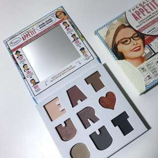 appetit eyeshadow palette | the balm