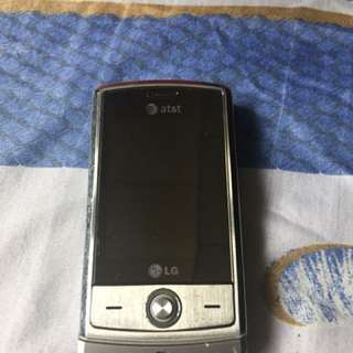 LG shine slider cellular phone with camera