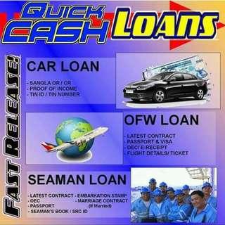 Nagpapautang Seaman & Ofw loan
