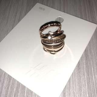 H&M Rings (7 Rings)