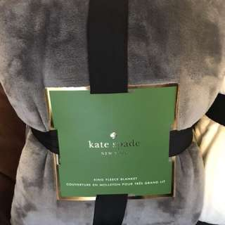 Kate spade fleece blankets / KING