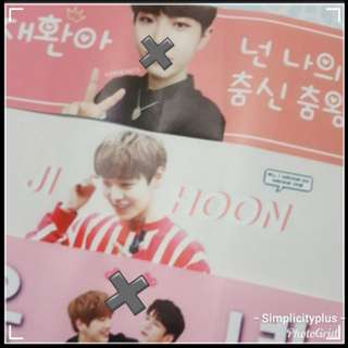 #blessing FOC WannaOne Banners with any WannaOne item purchase