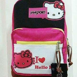 Hello kitty Original Jansport Bag