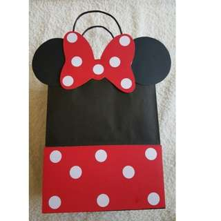 MTO Minnie Mouse and Mickey Mouse Loot Bags