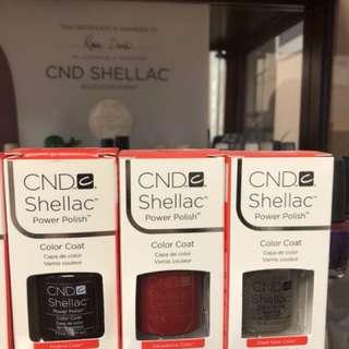 BRAND NEW CND SHELLAC
