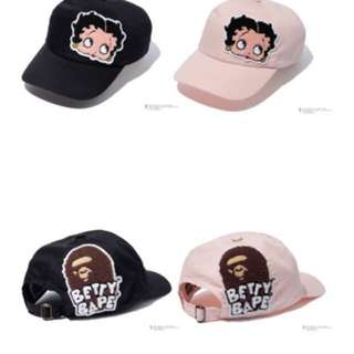 BAPE X BETTY BOOP CAP pm for current pic
