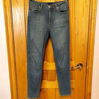 Just Black High Waisted Light Wash Denim Jeans