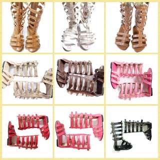Plain Gladiator Sandals