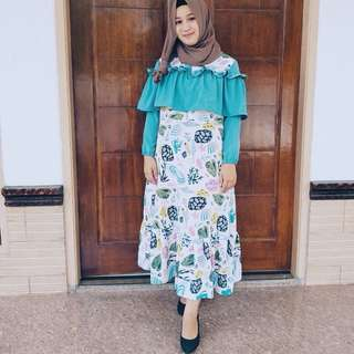 Longdress ruffle