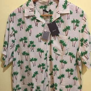 Bershka Tropical Shirt