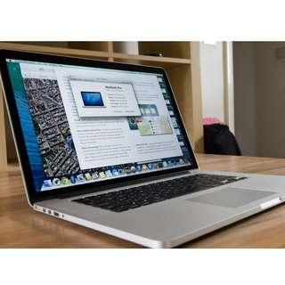 "Macbook Apple Pro 15"" Retina"